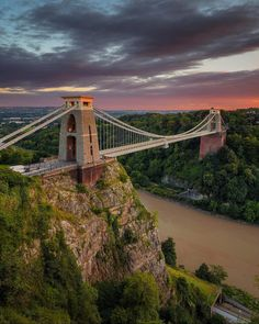 Clifton Bridge, Bristol, England