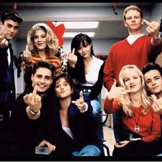 """This Rare """"90210"""" Cast Photo Is Unexpectedly Awesome"""