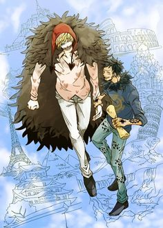 One Piece, Corazon, Trafalgar Law