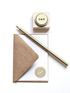 Custom stamp | BesottedBrand