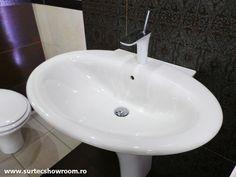 Lavoar: Hatria Sculture / Baterie lavoar: Hansgrohe Sink, The Originals, Home Decor, Sink Tops, Vessel Sink, Decoration Home, Room Decor, Vanity Basin, Sinks