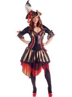 Adult Pirate Body Shaper Costume Plus Size 349330fd9