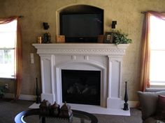 It's going to be getting cold where I live, and I'm wanting a fireplace to help heat my home. Fireplaces are warm, and they add such character to a room. I'm hoping my husband will agree!