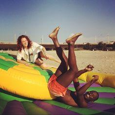 #beach #summer sou mesmo forte :3
