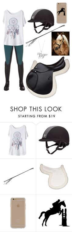 """""""A Casual Ride"""" by thepreppy-equestrian ❤ liked on Polyvore featuring Agent Provocateur and Agent 18"""