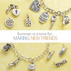 Thoughtful and heartfelt charms you and your friends can treasure forever.  #jamesavery
