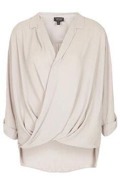 Formal Drape Front Blouse - Style Steals  - New In