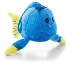 Finding Nemo fans will flip over this adorable mini version of good-hearted, yet sometimes forgetful Dory. Send this cute plush toy to the Nemo-loving birthday boy or girl or collect all of the perfectly-sized companions from the itty bitty® plush collection.