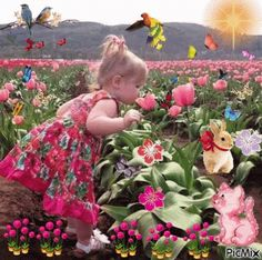 The perfect Girl Flowers Butterflies Animated GIF for your conversation. Discover and Share the best GIFs on Tenor.