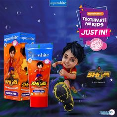 aquawhite is a leader in providing wide range of kids oral care products making it India's no 1 kids oral care brand. aquawhite has launched.