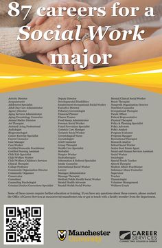 87 Careers for a Social Work Major