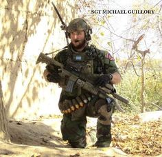 US Marine Raider SGT Michael Guillory in Helmand province Afghanistan.