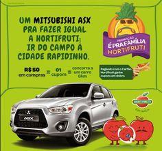 Promocao Hortifruti 2015 - Concorra a um Mitsubishi ASX 0km
