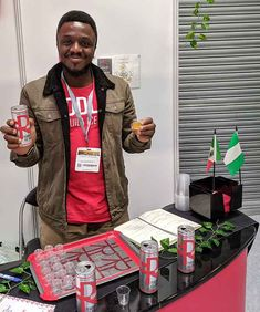 The latest specialist producer to sign up to Tried and Supplied is Riddles ' tequila ice tea, the brainchild of Charlie Odunkwe II. We caught up with him at the recent Restaurant Show in London, where he told us the story of how he first thought of this unusual new drink, and how he started his business producing it.