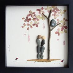 Unique Engagement Gift Personalized Couple's Gift por MedhaRode