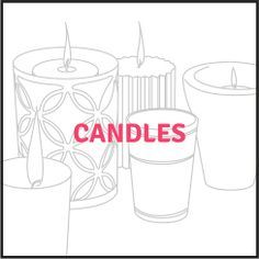 candles collection