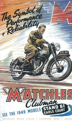 Matchless Moto Poster