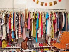 Donate or sell any items of clothing you've had for more than a year without wearing.