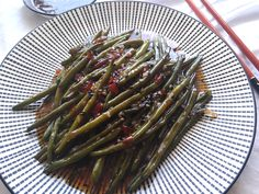 Grill Pan, Asparagus, Green Beans, Grilling, Vegetables, Kitchen, Food, Griddle Pan, Studs