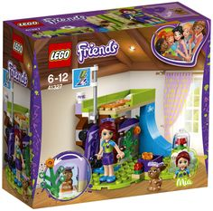 LEGO Friends Mia's Bedroom 41327 - for sale online Legos, Lego Lego, Skateboard Ramps, Construction Lego, Van Lego, Lego Friends Sets, Talkie Walkie, Lego Girls, Cool Tree Houses
