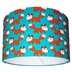 Little Fox Lampshade - lampshades