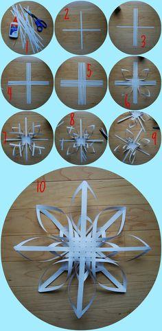 3D snowflake tutorial. No hay manera de encontrar la fuente.