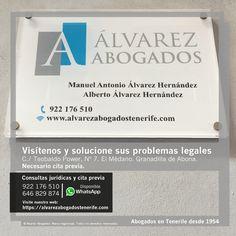 Alvarez Abogados Tenerife: Visítenos y solucione sus problemas legales. Necesario cita previa. https://alvarezabogadostenerife.com  #Derecho #Abogados #AlvarezAbogados #Tenerife #SomosAbogados #Justicia #TenerifeSur #elmédano #granadilladeabona