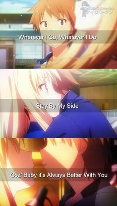 Anime: Sakurasou no Pet na Kanojo  Song: Better With You - Kris Allen