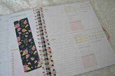 Uma leitura a mais: Minha agenda/planner para 2016 ♥