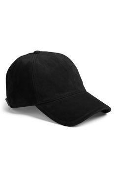 Main Image - rag   bone Marilyn Suede Baseball Cap Rag And Bone 717d55d3d89d