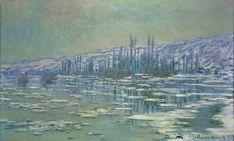 """Ice Floes on Siene"" - Claude Monet"
