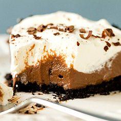 Chocolate Cream Pie Recipe   Brown Eyed Baker