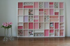 Would love one of these in my girls room. Letter Case, Organized Mom, Kidsroom, Creative Crafts, Shadow Box, Artsy Fartsy, Home Interior Design, Shelves, Cool Stuff