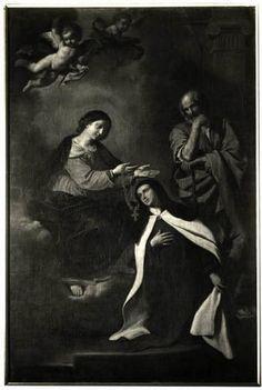 Milano - Pinacoteca di Brera. (?) Guercino, S. Teresa, olio su tela.