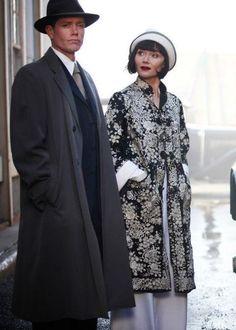 Miss Fisher's Murder Mysteries.   Miss Fisher's wardrobe   Pinterest