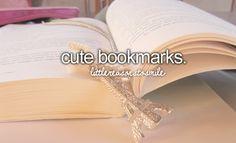 cute bookmarks #littlereasonstosmile