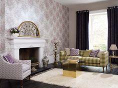 Verdanta fabrics and wallpapers by Osborne  Little www.osborneandlittle.com  Available at the DD Building suite 520 #ddbny #osbornelittle