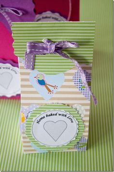 Instructions for making these cute treat bags.