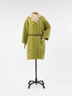 Coat  House of Balenciaga  (French, founded 1937)  Designer: Cristobal Balenciaga (Spanish, 1895–1972) Date: spring/summer 1965