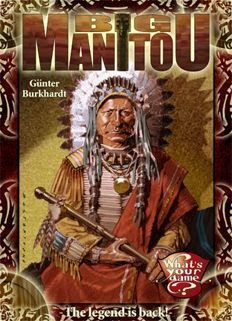 "Mastantuono, Corrado - original illustration for ""Big Manitou"" playing cards"