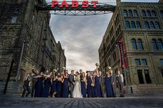 WS Photography » Milwaukee wedding / Best place of the historic Pabst Brewery