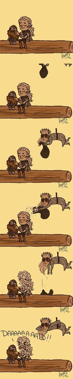 Hobbit Fan Art by knightJJ - this is genius! - Legolas is brushing Gimli's hair! Legolas And Thranduil, Gandalf, Thranduil Funny, Jrr Tolkien, You Shall Not Pass, Bagginshield, O Hobbit, Nerd, Jackson