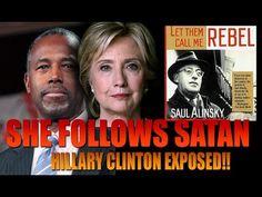 Ben Carson EXPOSES Hillary Clinton as LUCIFER Follower on LIVE TV - YouTube