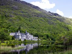 Mountain and valley, lake and streams, all combine to make Connemara one of the loveliest regions in Ireland. See: Kylemore Abbey, in the heart of the Connemara mountains. This impressive structure was built in 1868 as one of the great neo-Gothic castles of the period. It is now a Benedictine abbey run by the nuns, and the church and gardens have been completely restored.