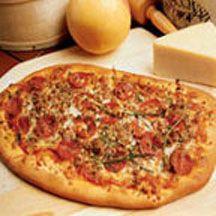 Mrs. Nick Salerno's Pizza crust