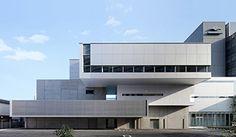 Exterior Sketch Architecture Building Ideas For 2019 Japan Architecture, Minimal Architecture, Industrial Architecture, Stairs Architecture, Cultural Architecture, Education Architecture, School Architecture, Sketch Architecture, Exterior Stairs