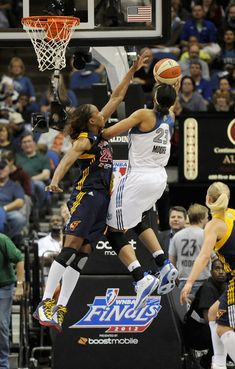 Tamika Catchings and Maya Moore Photo - Indiana Fever v Minnesota Lynx - Game Two