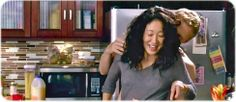 Cristina Yang and Owen Hunt sooo cute!!
