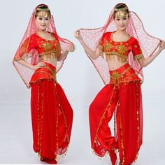 Indian dancer outfit