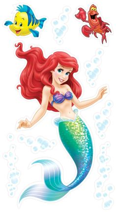 Uncle Milton Wild Walls Under the Sea Journey Little Mermaid